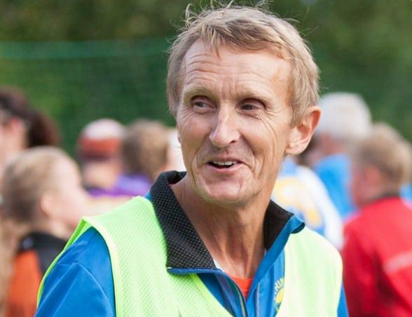 Primus motor for veterangruppa, Even Løkken. Evens beste resultat er fra London Maraton i 1985 hvor han løp på 2.20.51 - klubbens nest beste maratontid. Foto: Kai T. Dragland