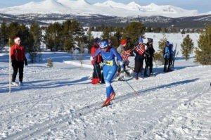 Emilie Kristoffersen, Lillehammer skiklubb/Team COOP, vinner 2015. Foto: Tone Sidsel Sanden.
