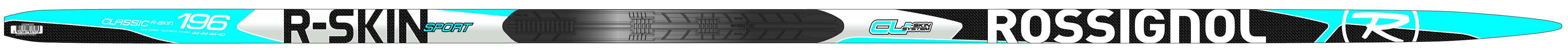 Rossignol R-skin Sport, en rimelig treningsski med felle i butikkene i år (klikk på bildet for større versjon).