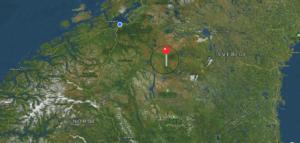 Bruksvallarna ligger så å si midt i Sverige-Norge - om dét var et land...