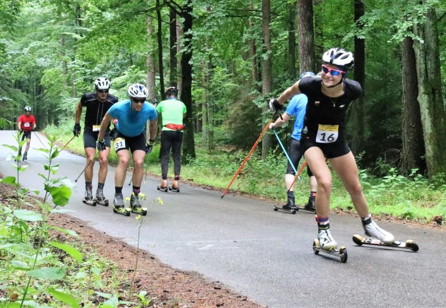 Set a rollerski marathon record for yourself and for Natalia (18) in Poland this summer!