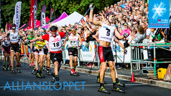 World´s ´biggest rollerski race´ Alliansloppet announced as the 4th Visma Challengers