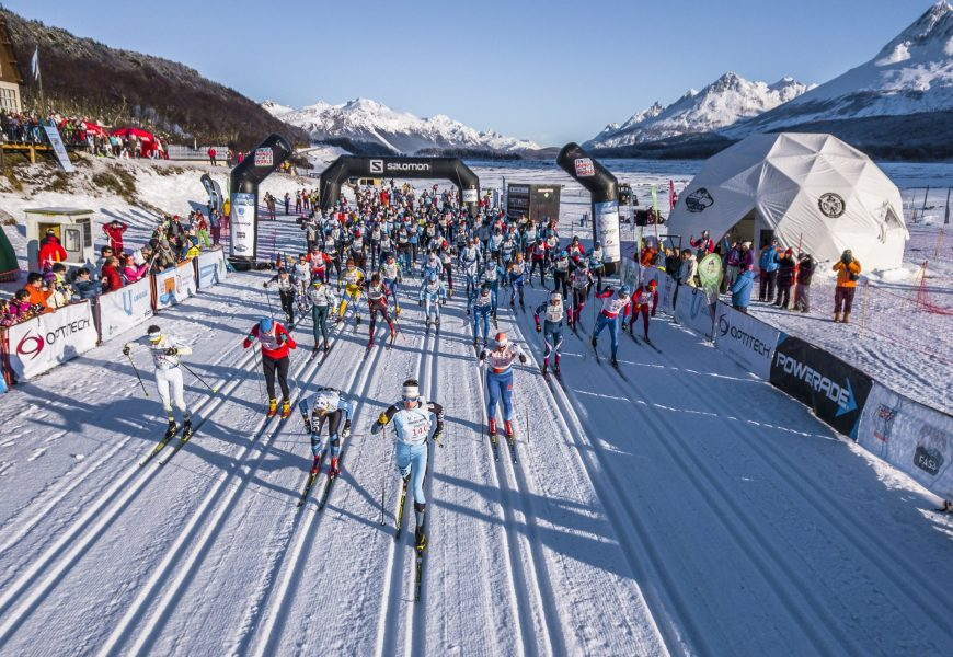Worldloppet kicks off the 19/20 season with exotic Ushuaialoppet in Argentina